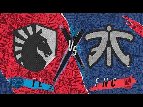 TL vs. FNC - Day 1 | Rift Rivals | Team Liquid vs. Fnatic (2019)