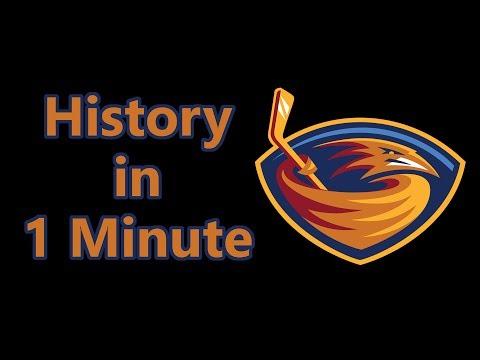 History Of The Atlanta Thrashers (In A Minute)