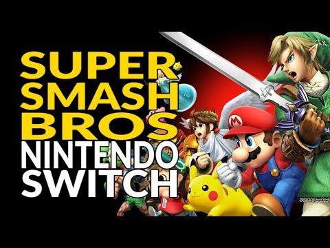 Podría anunciarse en breve Super Smash Bros for Switch