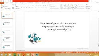 How configure sick leave with icehrm so that only the manager can apply behalf of employee