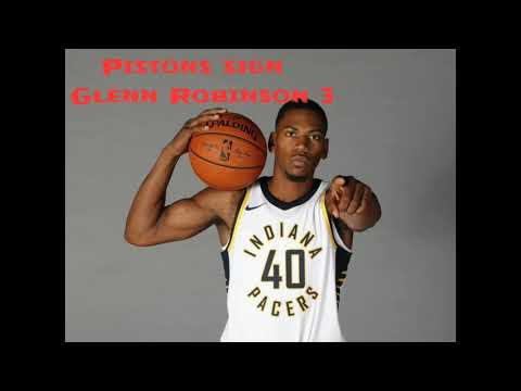 (BREAKING NBA NEWS) Detroit Pistons sign Glenn Robinson 3!