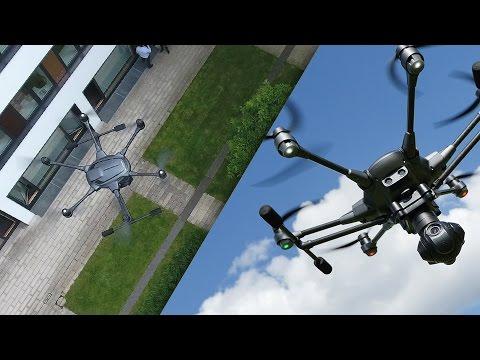 Diese Drohne hat das Zeug zum DJI-Killer: Yuneec Typhoon H im Test | CHIP