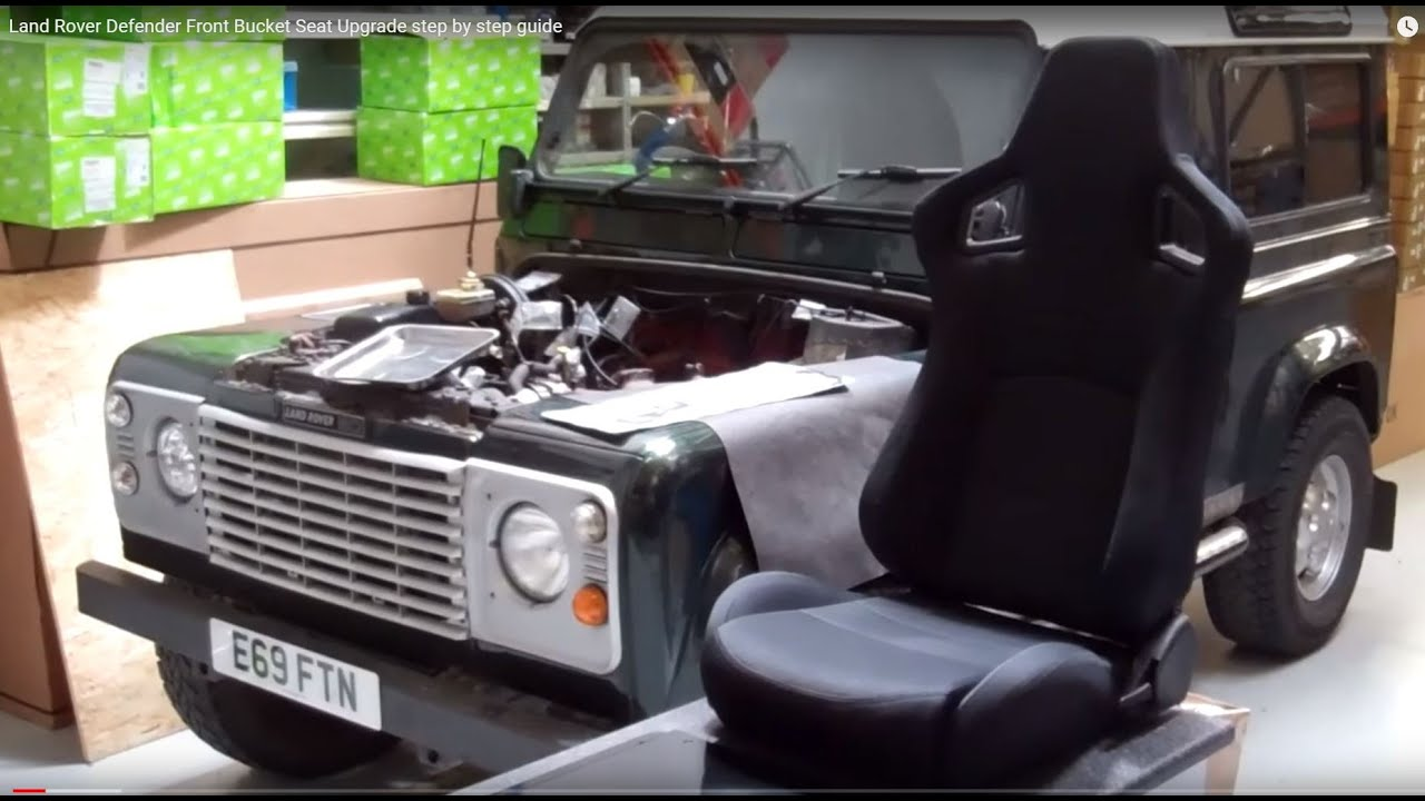 How To Fit Hsx Seats To A Land Rover Defender Youtube