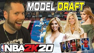 I asked Models to draft my NBA 2K20 team