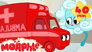 Atmo Gets Sick - My Magic Pet Morphle | Cartoons For Kids | Morphle TV | Mila and Morphle