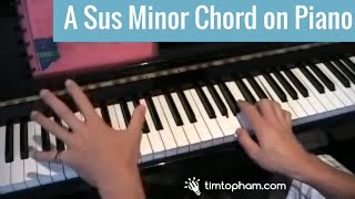Epic A minor sus chord piano teaching progression Mp3