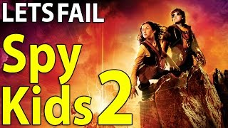 LETS FAIL: Spy Kids 2: Island Of Lost Dreams || Everything Wrong With Robert Rodriguez Movie