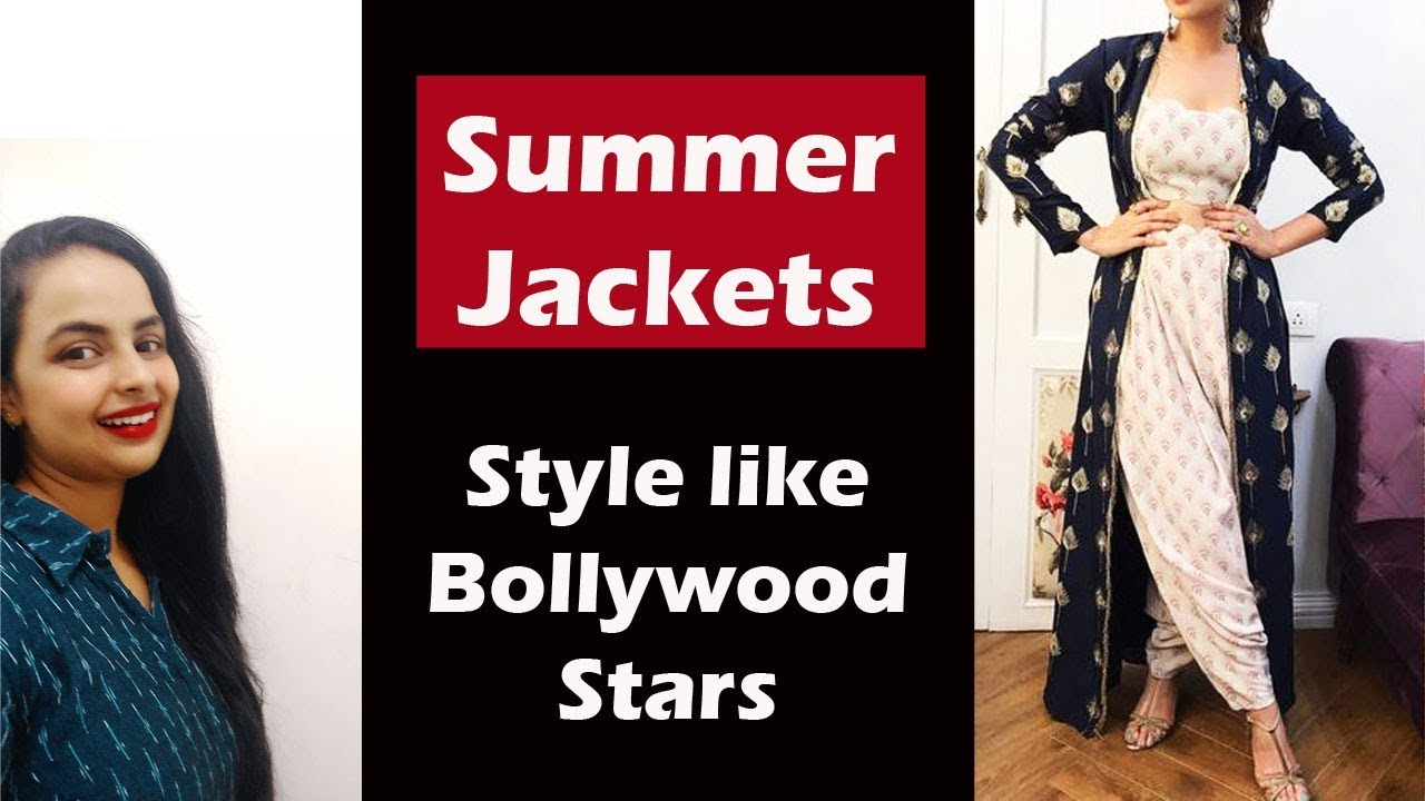 Long and Short Jackets|shrugs|How to wear and style them in Summers| In Hindi|English subtitles