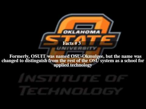 Oklahoma State University Institute of Technology Top # 5 Facts
