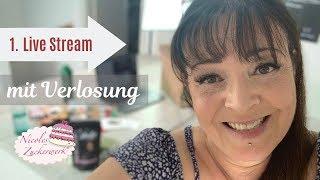 1. Live Stream mit Nicoles Zuckerwerk & große Verlosung