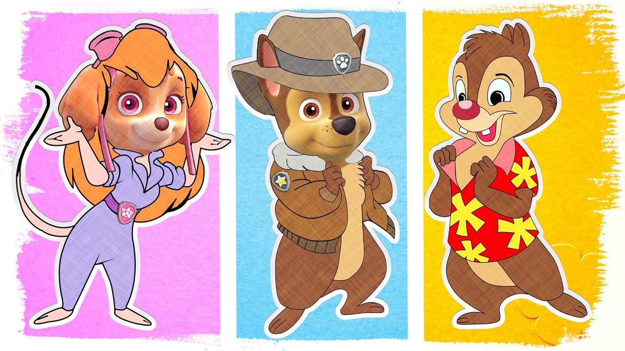 Chip And Dale Coloring Pages - Coloring Home | 720x1280