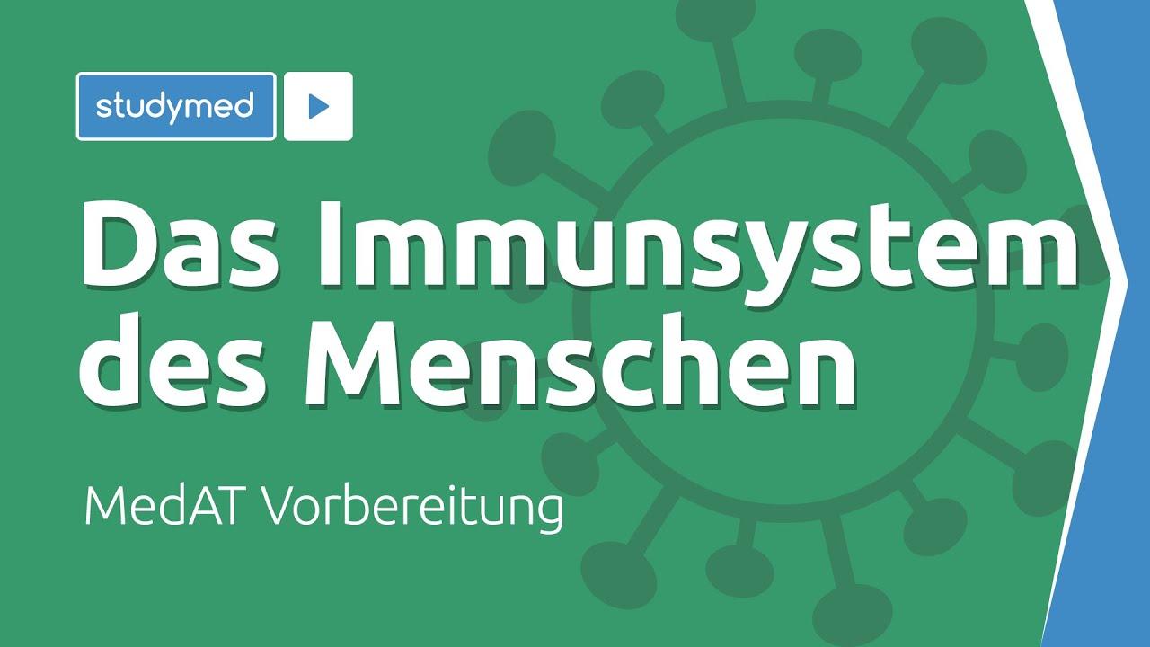 Das Immunsystem Des Menschen Medat Vorbereitung Youtube