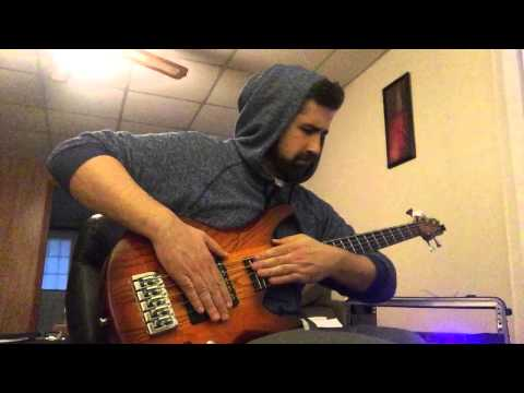 """Kid A""  By Radiohead On Solo Bass And Loops"