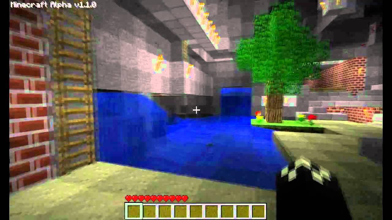 Minecraft Underground house tour by Hadrians YouTube