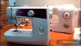 Обзор недорогих швейных машин Janome, Singer, Jaguar, Brother