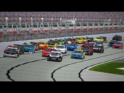 Testing The New Aero Package!   2019 MENCS @ Atlanta Motor Speedway   NR2003 LIVE STREAM EP446