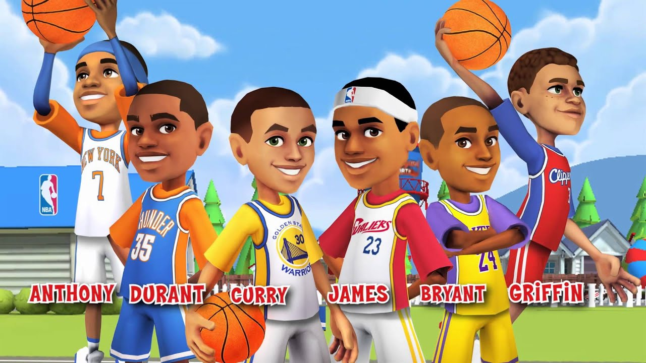 tv spot for backyard sports nba basketball 2015 youtube