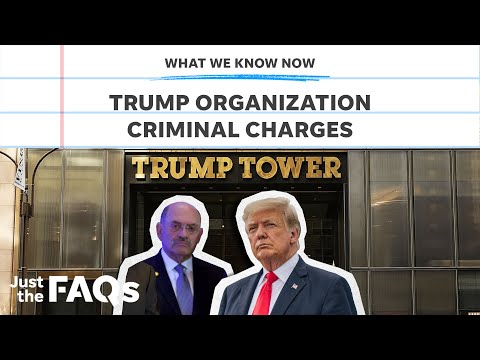 Trump Org, Weisselberg charged with tax fraud: Here's what we know   Just the FAQs