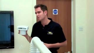 How to ventilate a bathroom with no windows