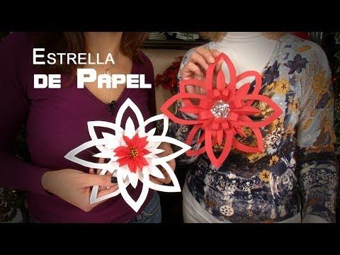Guirnaldas de papel manualidades para navidad funnycat tv for Hacer decoracion de navidad