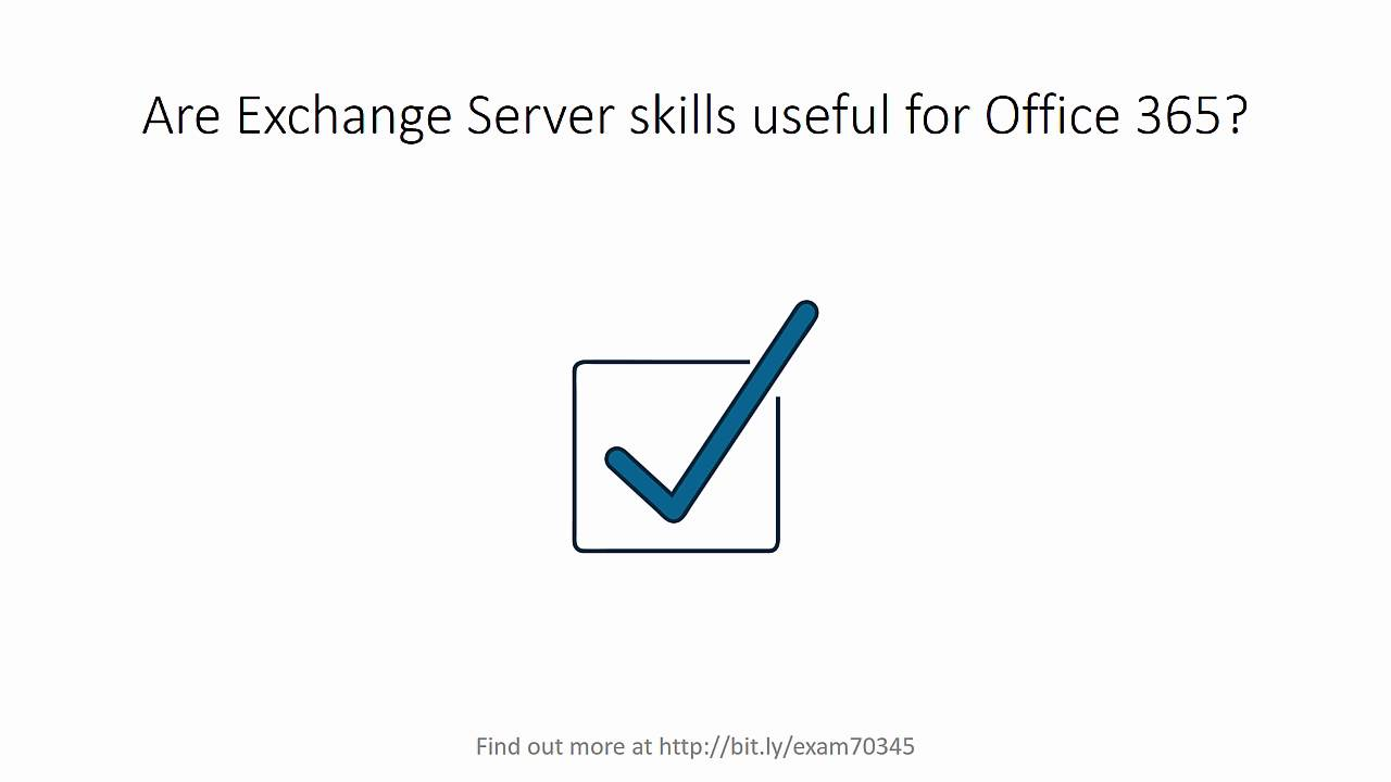Microsoft Exam 70 345 Designing And Deploying Exchange Server 2016