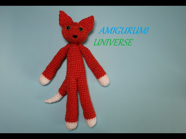 Patrón crochet Zorro Amigurumi zorro pdf tutorial LUCAS el | Etsy | 480x640