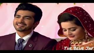 Aiman Khan and Shahzad Sheikh Romantic scenes : Ghar Titli ka Par