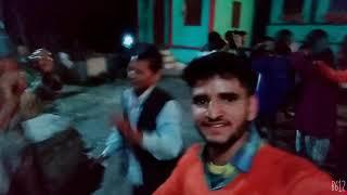 दीपावली के शुभ अवसर पर  धमाकेदार डीजे  नृत्य ग्राम टकारना के लोगों के द्वारा