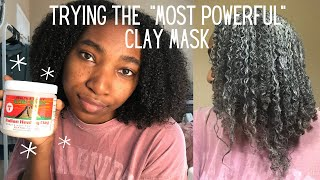 Trying Aztec Healing Clay Mask on Hair FINALLY Aztec Healing Clay Review