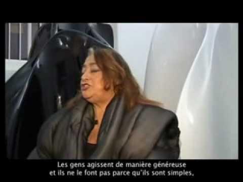 Maison & Objet 2008: Zaha Hadid (Interview)