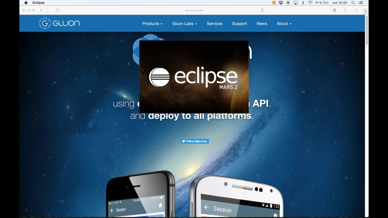 Getting Started with Gluon in Eclipse IDE