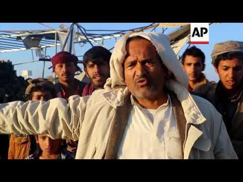 Coalition airstrikes hit Saada market, gas facility, one dead
