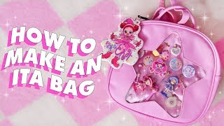 ITA BAG DIY 💘 (and sappy talks about what anime means to me lol)