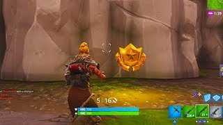 """Follow the Treasure Map Found in Risky Reels"" Location (Fortnite Season 5)"