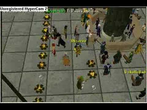 Runescape - Grand exchange glitch