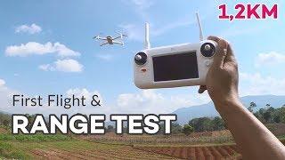 Xiaomi FIMI A3 Terbang Pertama Kali Range Test 1,2KM