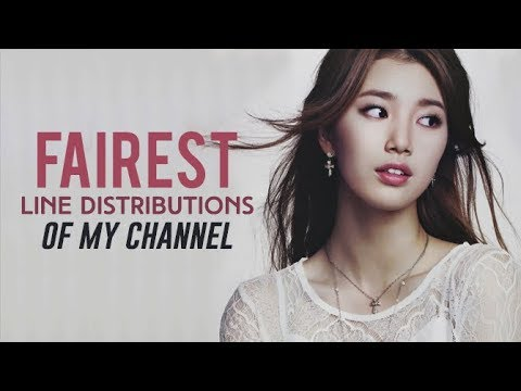 FAIREST LINE DISTRIBUTIONS OF MY CHANNEL