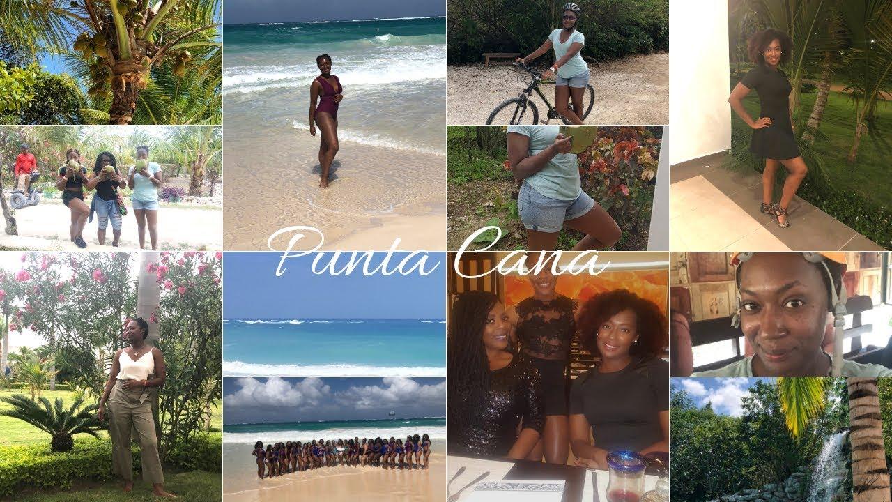 Punta Cana Girls Trip Dominican Republic Travel Vlog Youtube