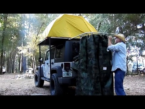 Rackabilities Diy Jeep Wrangler Shower Youtube