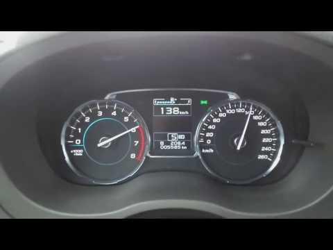 2017 Subaru Forester XT: acceleration 0-200 km/h