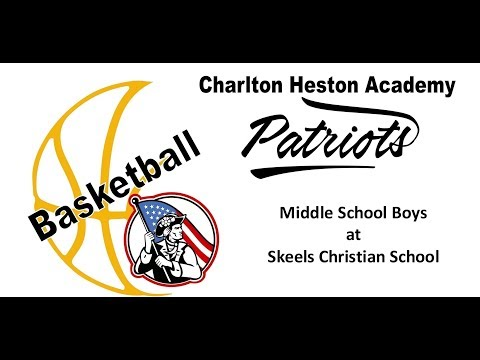 CHA Patriots Basketball -  Middle School Boys at Skeels Christian School