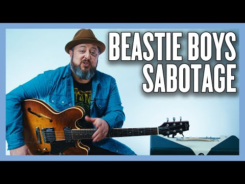 Beastie Boys Sabotage Guitar (AND BASS) Lesson + Tutorial