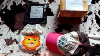 Кепка и многоразовый подгузник для ребёнка.(, 2015-07-07T14:53:19.000Z)