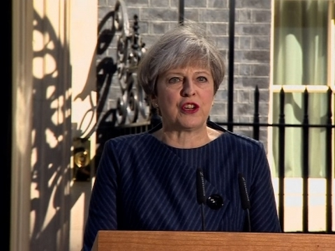 UK Prime Minister Calls Surprise Elections