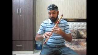 Indian Flute (Bansuri) Basics - Part 2 : Holding bansuri and producing sound