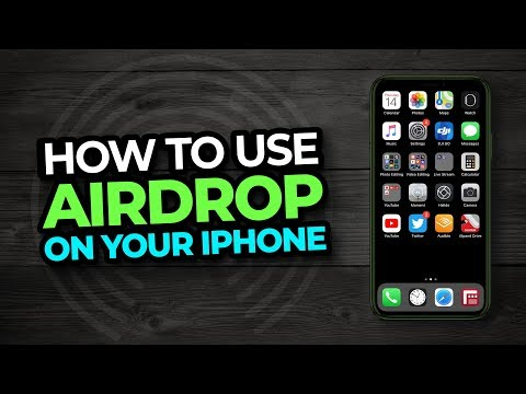 How To Use Airdrop For iPhone and iPad (iOS 12)