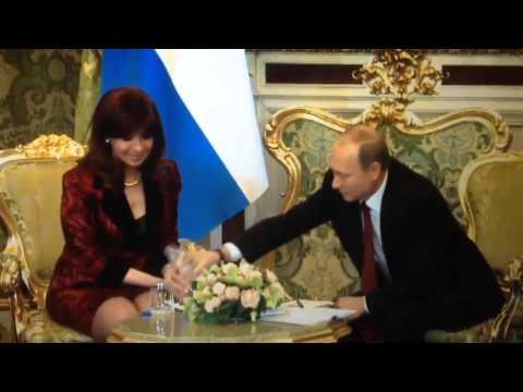 El video de Cristina y Putin que es furor en las redes | El Destape