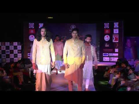 designer  sidhanth lko fashion week festival 2017 transformation nights show director sunny mishra