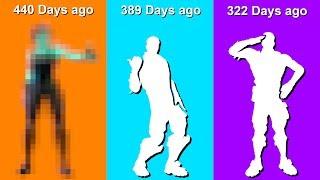 Rarest Fortnite Item Shop Emotes   Last seen 300+ Days Ago!