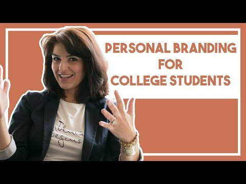 How to establish personal branding while you're still in College.